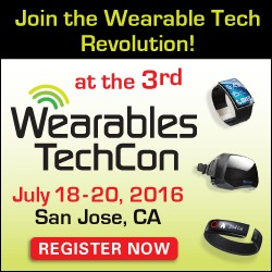 Wearables TechCon 2016